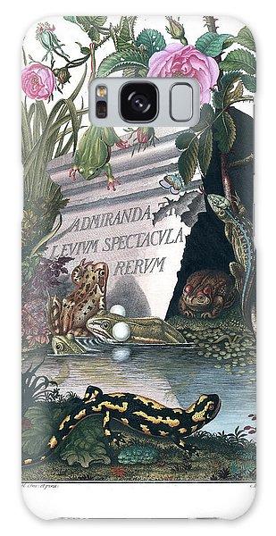 Frontis Of Historia Naturalis Ranarum Nostratium Galaxy Case