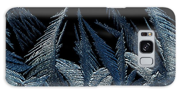 Galaxy Case featuring the photograph Frost Forest 2015 by Fred Denner