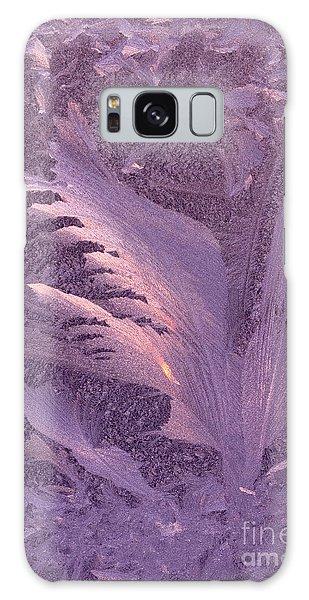 Frost Frosty Window Galaxy Case by George Robinson