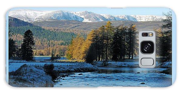 Frost In The Glen - Invercauld Galaxy Case