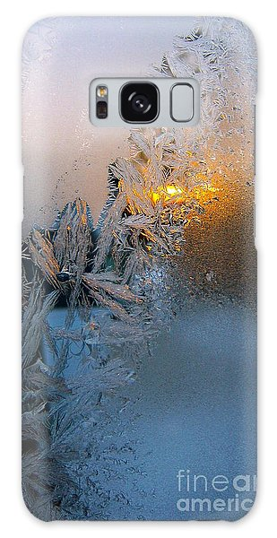 Frost Warning Galaxy Case by Pamela Clements