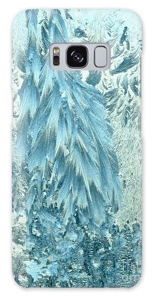 Frosty Forest Galaxy Case
