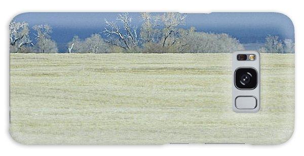 Frosty Morning Landscape Galaxy Case