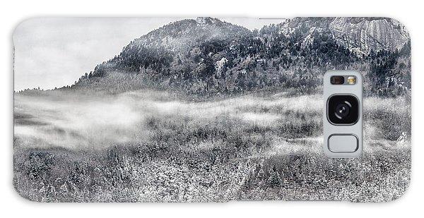 Snowy Grandfather Mountain - Blue Ridge Parkway Galaxy Case