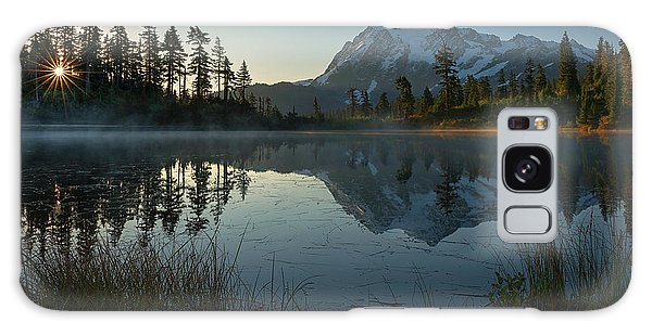 Frosty Picture Lake Galaxy Case by Dan Mihai