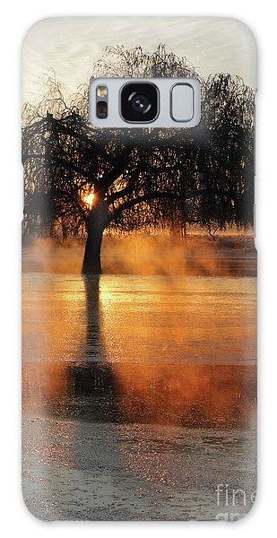 Frosty Sunrise In Bushy Park London 2 Galaxy Case