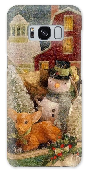Frosty The Snowman Galaxy Case by Mo T