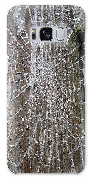 Frosty Web Galaxy Case