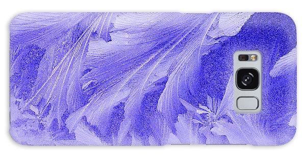 Frosty Window Galaxy Case by George Robinson