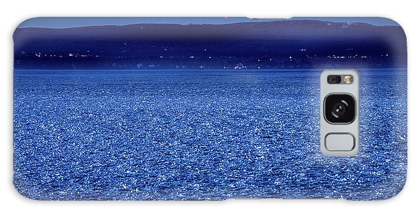 Frozen Bay At Night Galaxy Case by Onyonet  Photo Studios