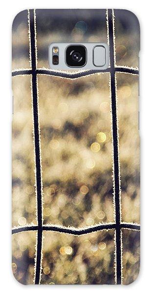 Frozen Fence Galaxy Case