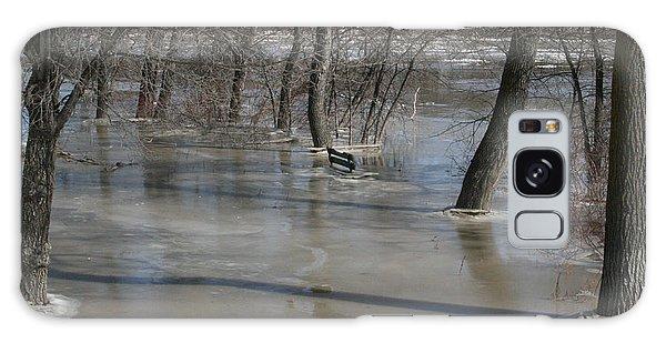 Frozen Floodwaters Galaxy Case