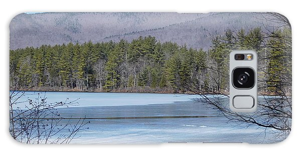 Frozen Lake Chocorua Galaxy Case