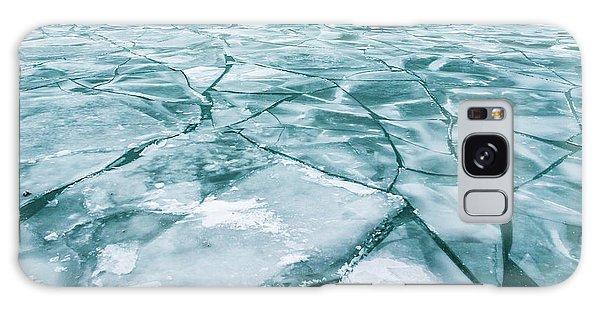Frozen Lake Galaxy Case