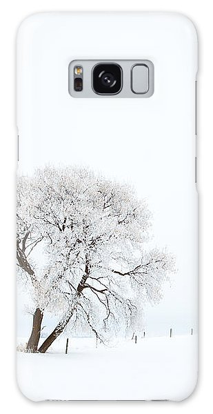 Frozen Morning Galaxy Case by Yvette Van Teeffelen