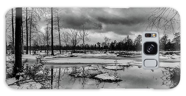 Frozen Mullica River Galaxy Case