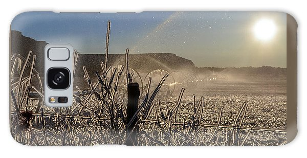Frozen Sunrise Galaxy Case