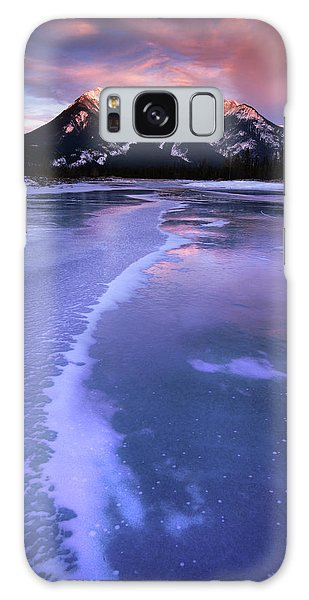 Frozen Sunrise Galaxy Case