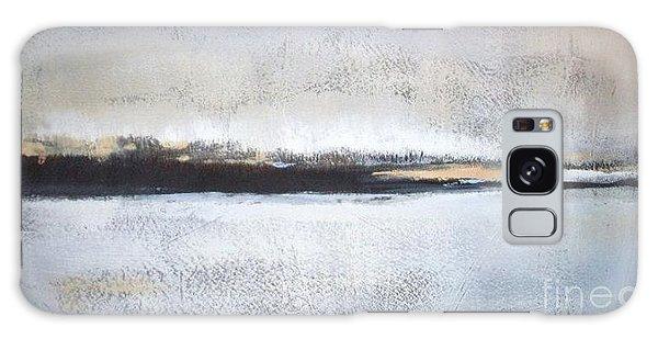 Abstract Landscape Galaxy Case - Frozen Winter Lake by Vesna Antic