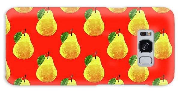 Fruit 03_pear_pattern Galaxy S8 Case