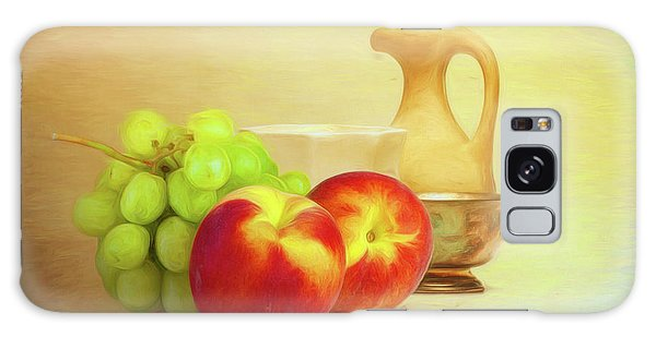 Fruit And Dishware Still Life Galaxy Case