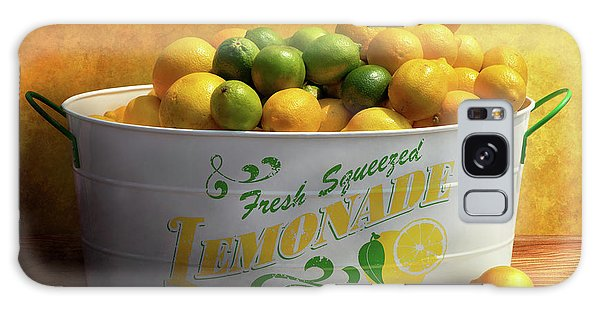 Galaxy Case featuring the photograph Fruit - Lemons - When Life Gives You Lemons by Mike Savad
