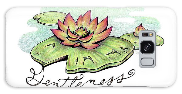 Fruit Of The Spirit Series 2 Gentleness Galaxy Case