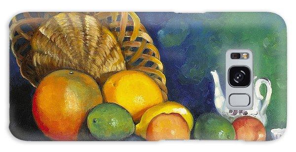 Fruit On Doily Galaxy Case