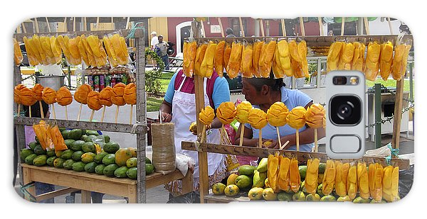 Fruit Stand Antigua  Guatemala Galaxy Case by Kurt Van Wagner