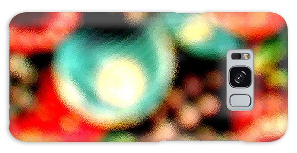 Fruit Sticker Galaxy Case by Barbara Tristan