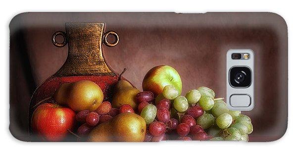 Fruit With Vase Galaxy Case by Tom Mc Nemar
