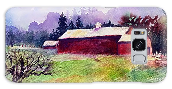 Galaxy Case featuring the painting Fruitlands Museum II by Priti Lathia