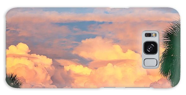 Ft De Soto Sunset Clouds Galaxy Case