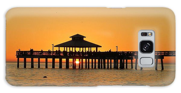 Ft. Myers Pier Galaxy Case