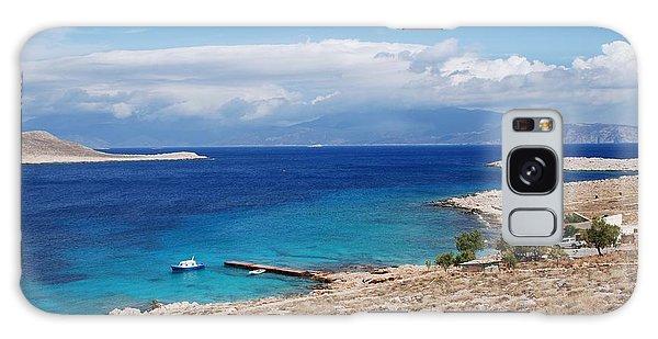 Ftenagia Beach On Halki Galaxy Case