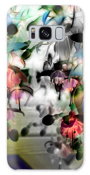 Fuchsia Abstract Galaxy Case by Stuart Turnbull