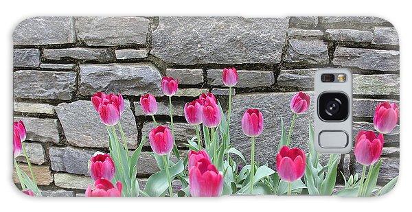 Fuchsia Color Tulips Galaxy Case