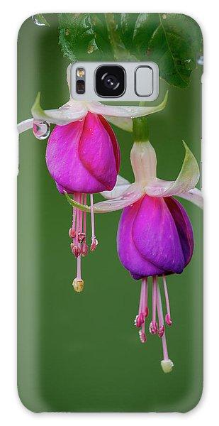 Galaxy Case featuring the photograph Fuchsia Flower, Nuwara Eliya, 2012 by Hitendra SINKAR