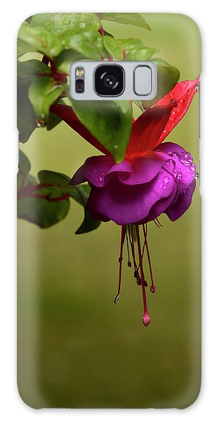 Fuchsia Fuchsia Galaxy Case by Ann Bridges