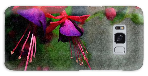 Fuchsia's Beating As One Together -silk Edit Galaxy Case