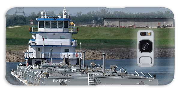 Fuel Barge On The Mississippi R Galaxy Case