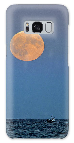 Full Blood Moon Galaxy Case by Nancy Landry