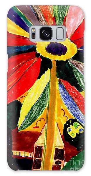 Full Bloom - My Home 2 Galaxy Case by Angela L Walker