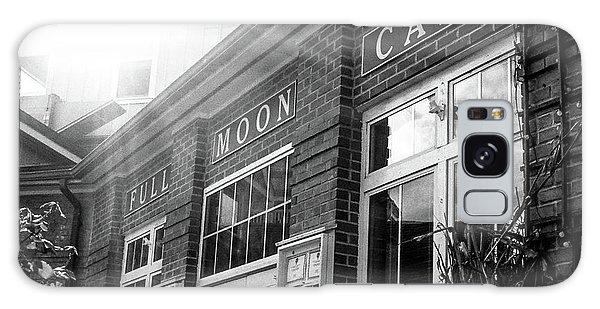 Full Moon Cafe Galaxy Case