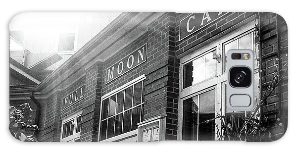 Full Moon Cafe Galaxy Case