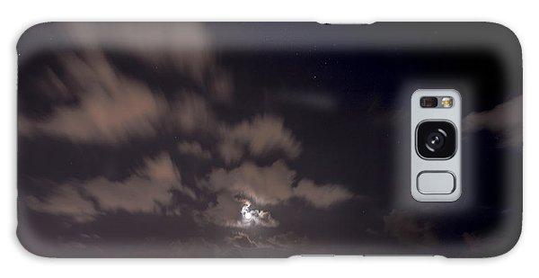 Full Moon In Miami Galaxy Case