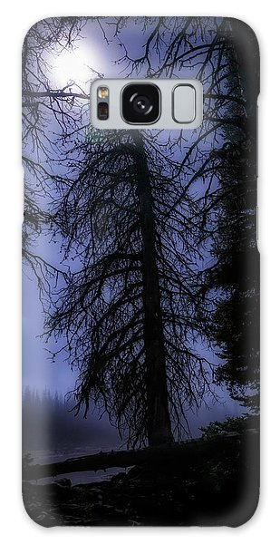 Full Moon In The Woods Galaxy Case