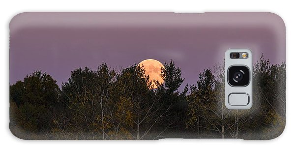 Full Moon Over Orchard Galaxy Case