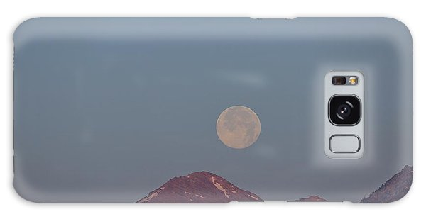 Full Moon Over The Tetons Galaxy Case