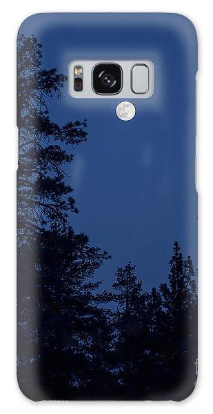 Full Moon Rising Galaxy Case